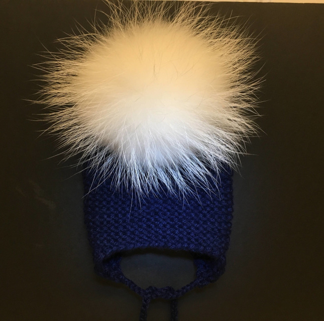 c9809e88089 Cashmere Hat - Single Pom